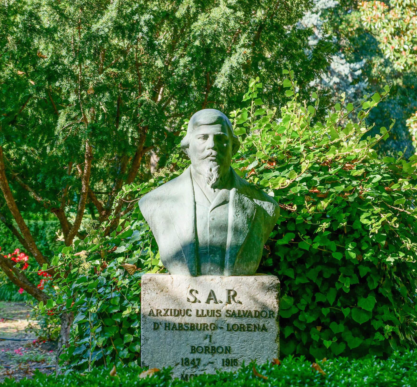 Statue Erzherzog Ludwig Salvador von Habsburg - Arxiduc
