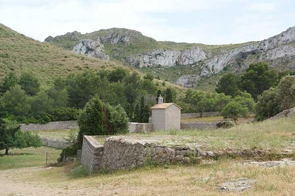 kleine Kapelle neben der Einsiedelei