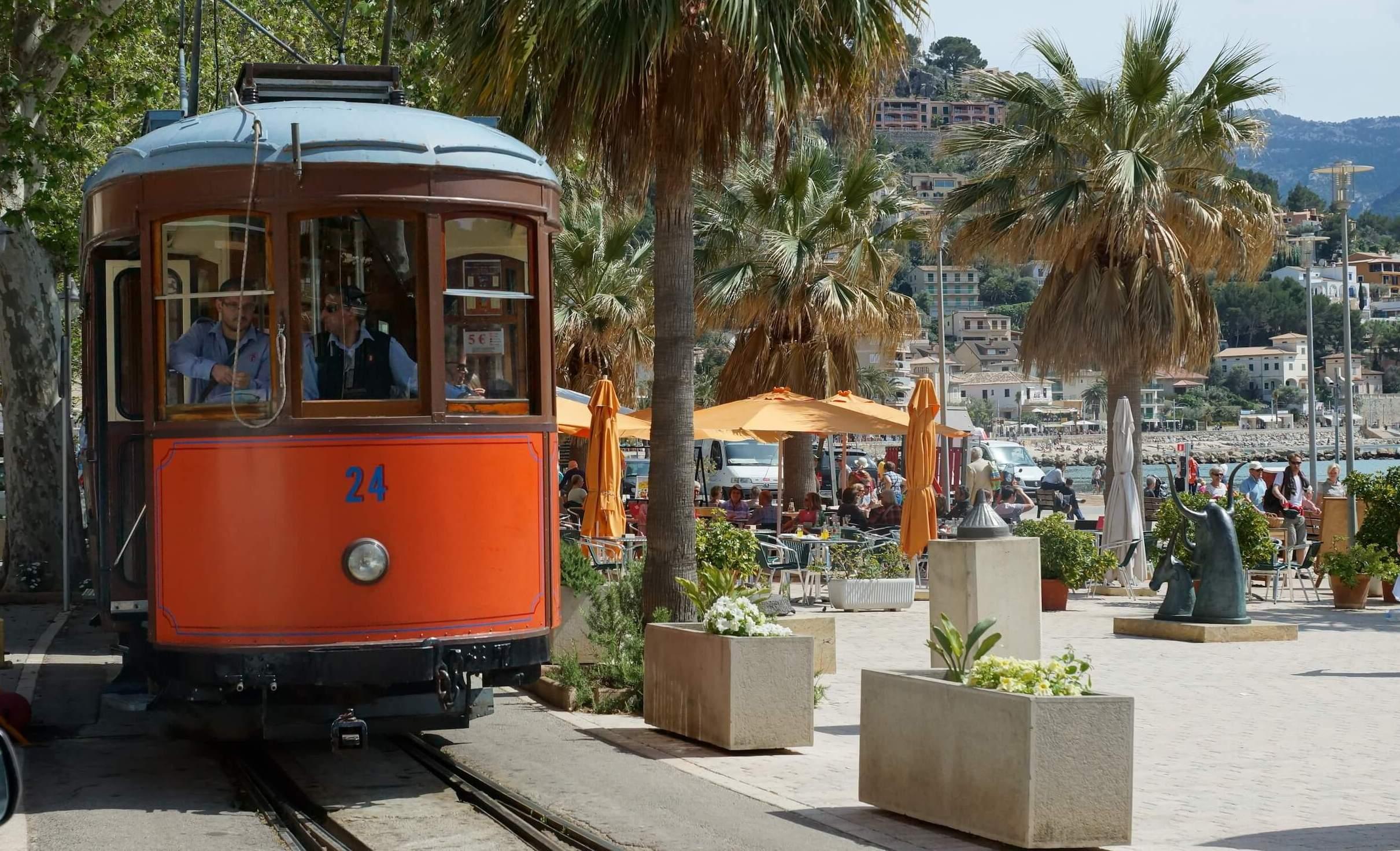 Tren de Soller - Carrer de la Marina - Hafen Port Soller