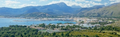Hafen Puerto Pollensa Mallorca