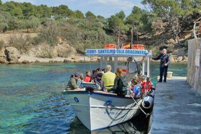 Ausflugsboot-San Telmo