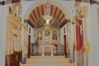 Kleine Kapelle Innenansicht