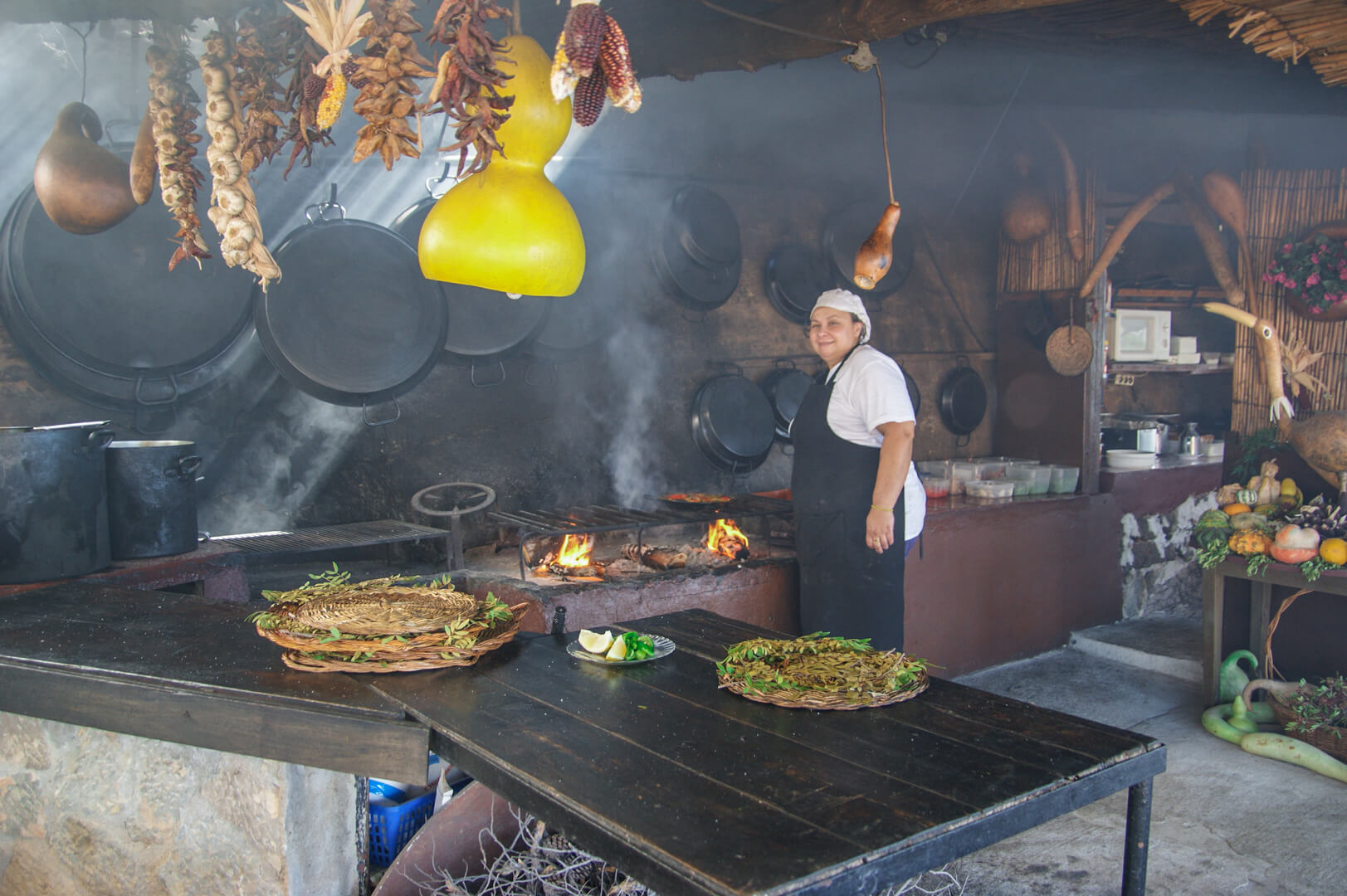 Küche Restaurant Sa Foradada