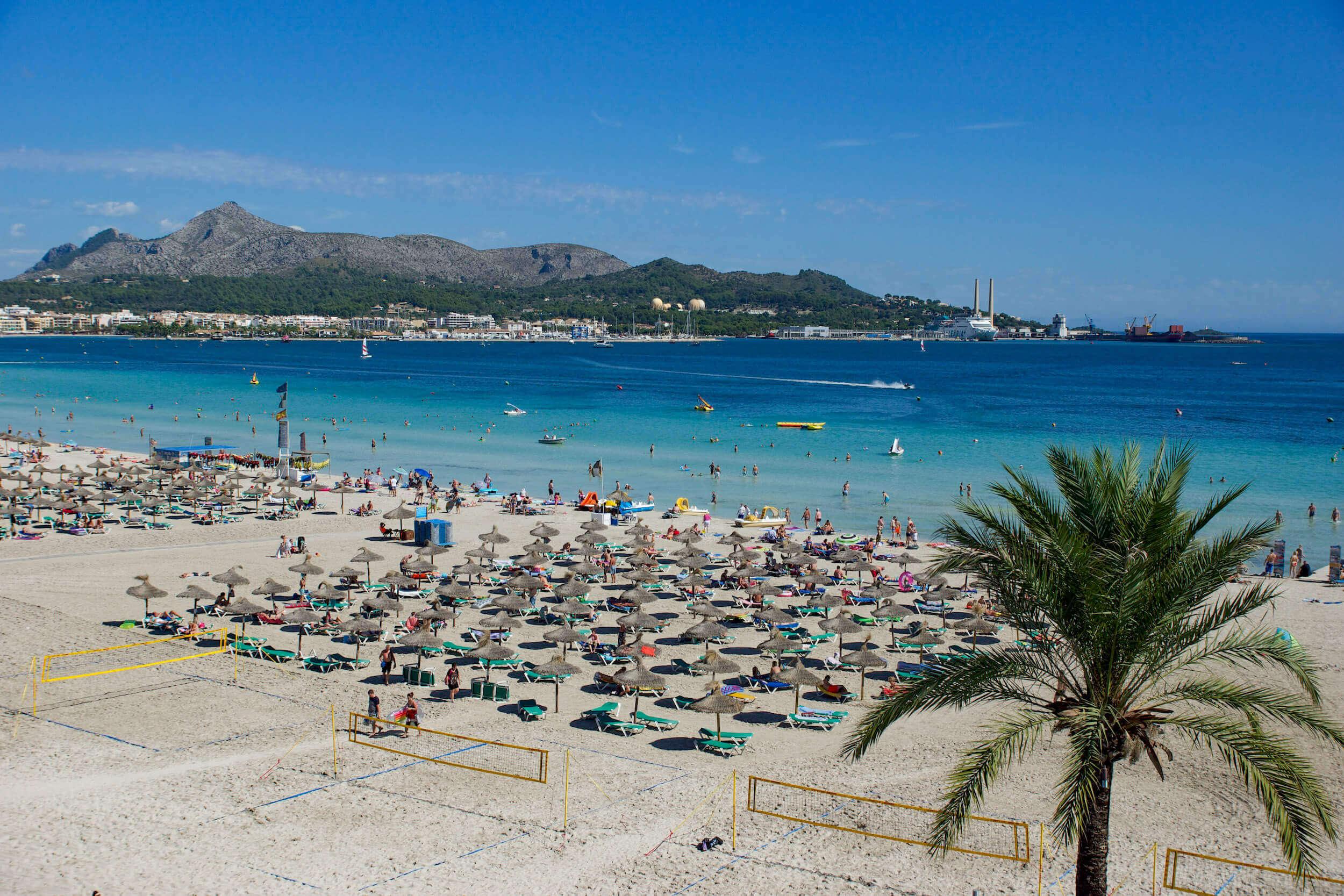 Playa d'Alcúdia Mallorca