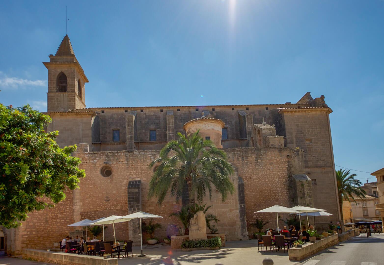 Kirche in Santanyi - Sant Andreu