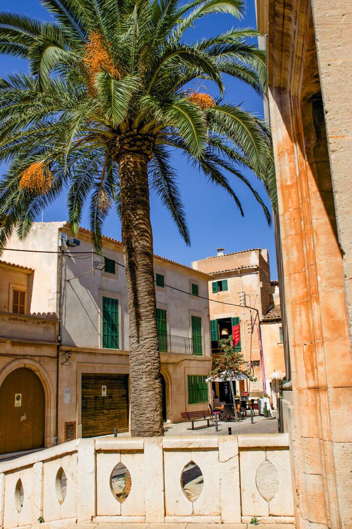 Blick zum Restaurant Sa Botiga Santanyi