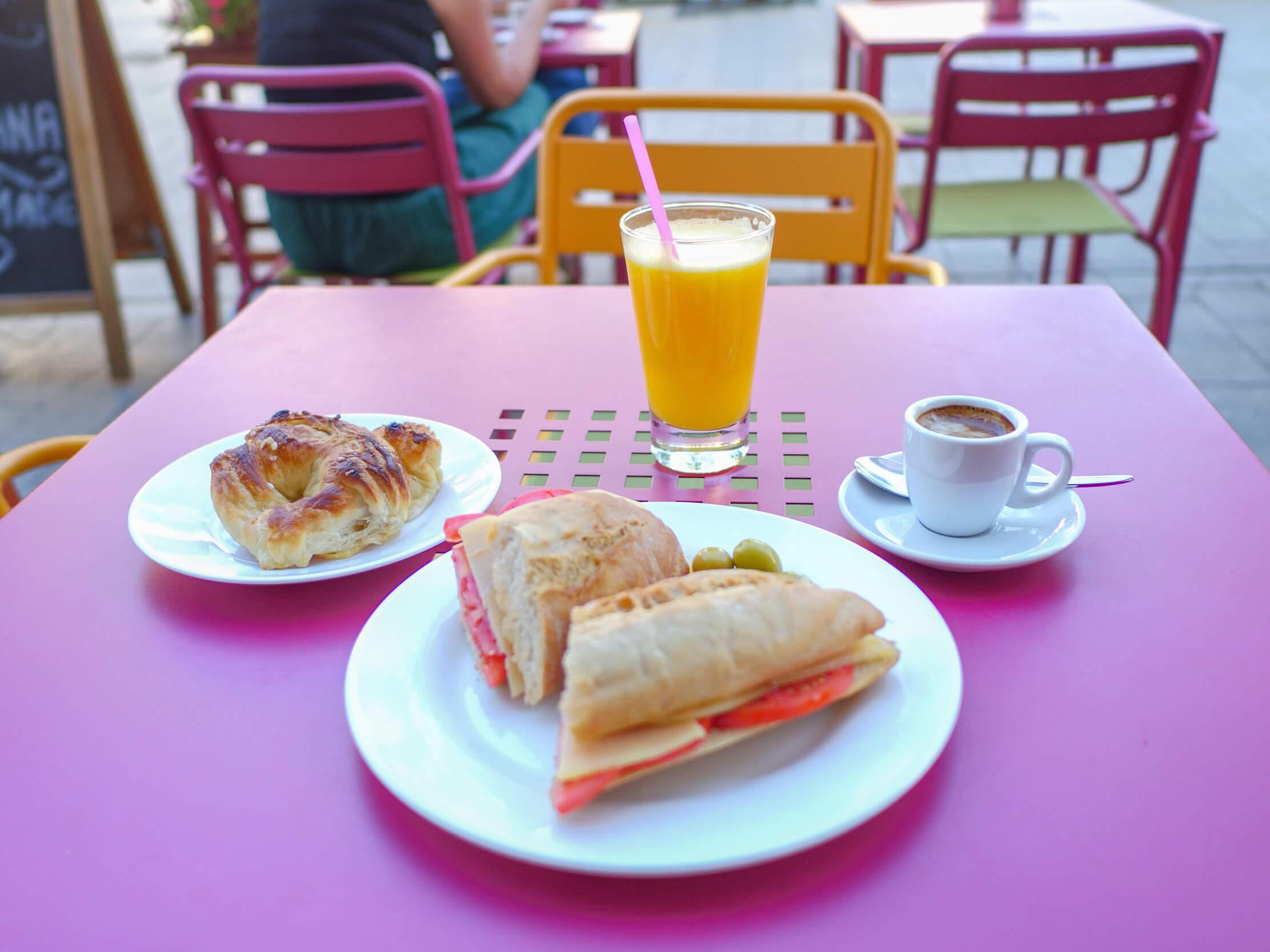 Frühstück Mallorca - Bocadillo