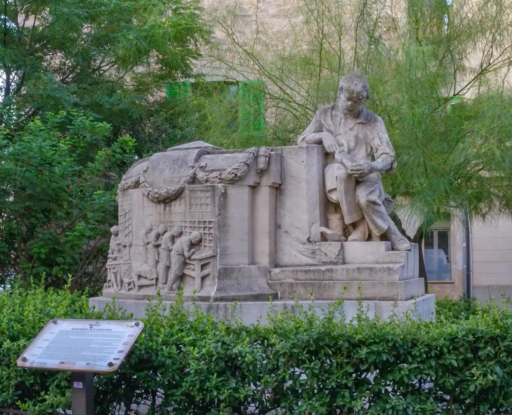 Schuhmacherdenkmal Llucmajor