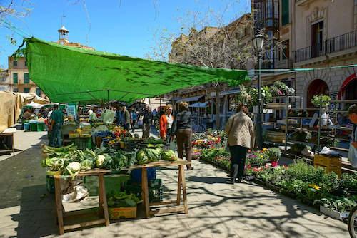 Wochenmarkt Llucmajor