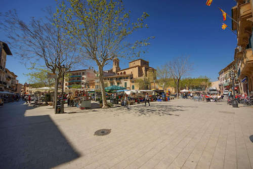 Wochenmarkt Placa Espanya