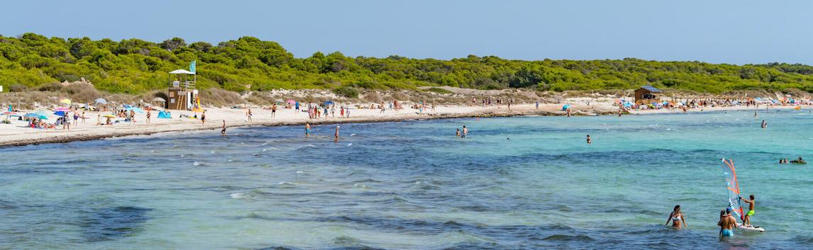 Naturstrand Es Trenc auf Mallorca